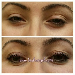 LVL LASHES without mascara